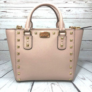 Blush MK Selma Studded Cross-Body Purse